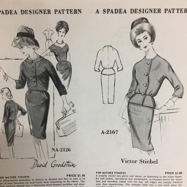 "Spadea ""Dinah Shore's Wonder Wardrobe"" Vintage Dress Pattern For Sale In New York - Image 6 of 9"