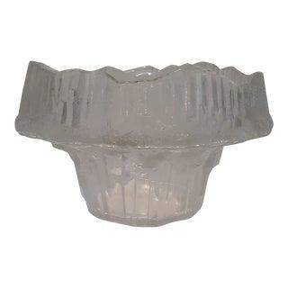 "Tapio Wirkkala ""Stellaria"" Glass Bowl For Sale"