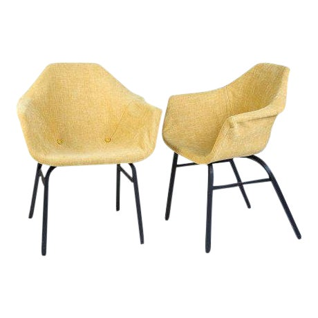 Mid-Century Modern Eames Chairs - a Matched Pair For Sale
