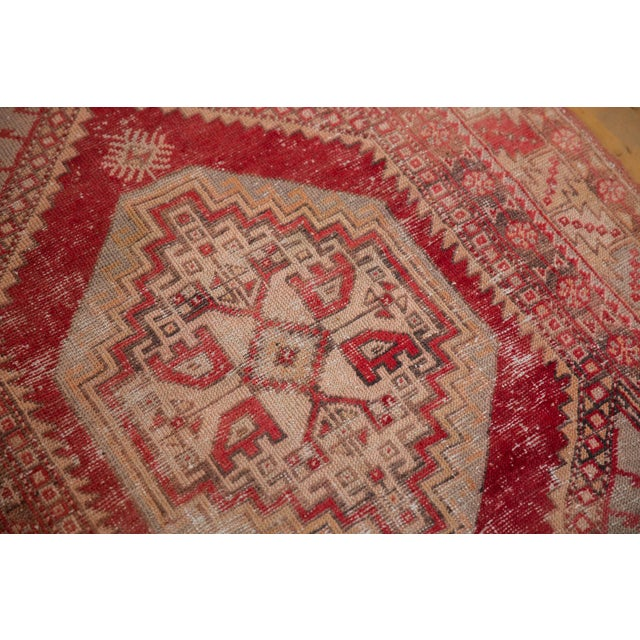 "Vintage Distressed Oushak Rug - 3'8"" X 5'8"" For Sale In New York - Image 6 of 12"