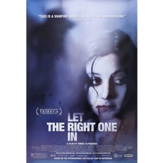 Let the Right One In 2008 U.S. One Sheet Film Poster For Sale