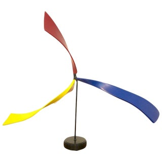 Tabletop Mobile in the Manner of Calder For Sale