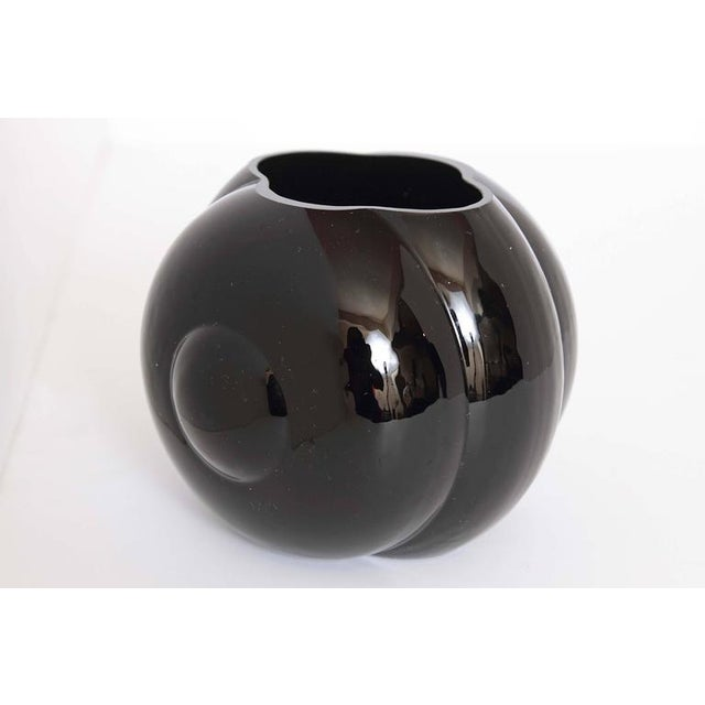 Art Deco George Sakier Fostoria Modernist Fishbowl Vase For Sale - Image 3 of 11