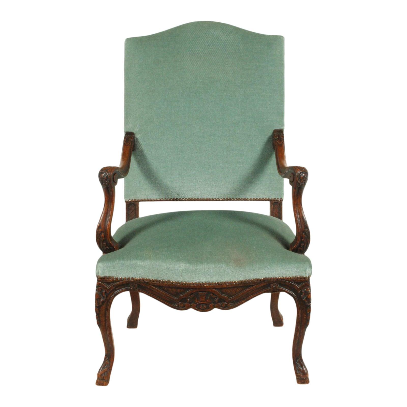 19th-C. French Louis XVIII-Style Armchair   Chairish