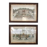 Image of Chinoiserie Framed Prints - a Pair For Sale