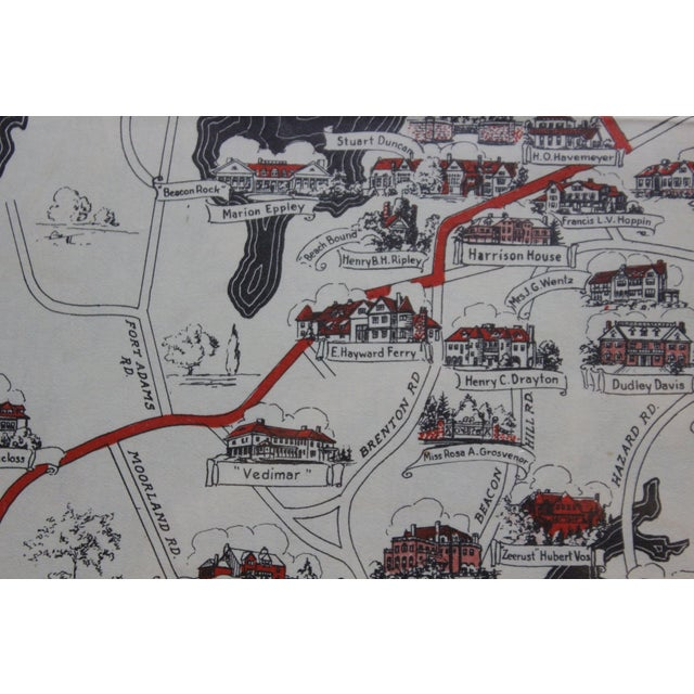 Traditional Ten Mile Drive, 1939 Map For Sale - Image 3 of 6
