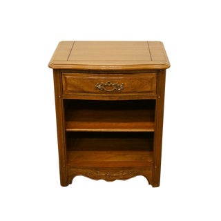 Davis Cabinet Provence Country French Provincial Solid Cherry Nightstand For Sale