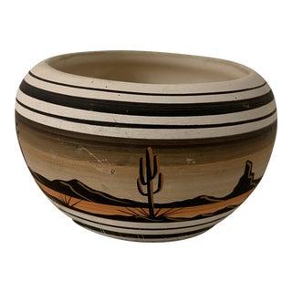 Vintage u.s. Originals Native American Pottery Vase For Sale