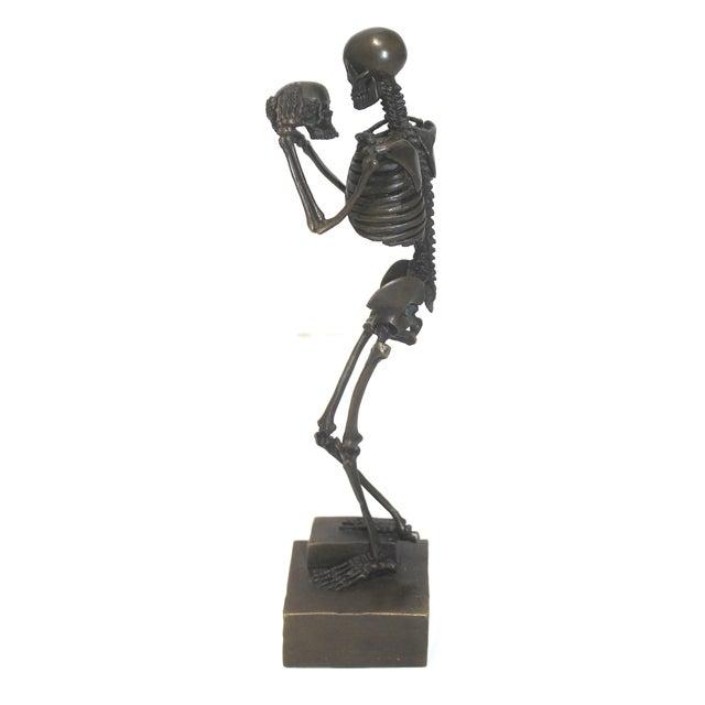 Late 20th Century Vintage Carl Kauba Style Bronze Figure For Sale - Image 5 of 13
