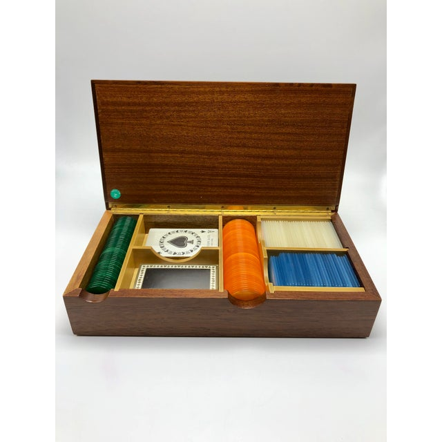 1940s Tiffany and Co. Poker Set For Sale - Image 9 of 9