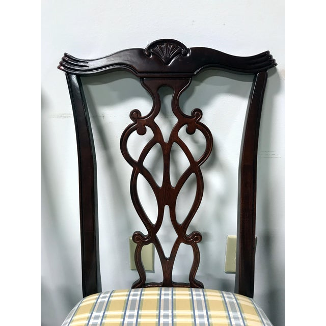 Lexington Chippendale Mahogany Ball Claw Dining Chairs- Set of 4 - Image 5 of 11