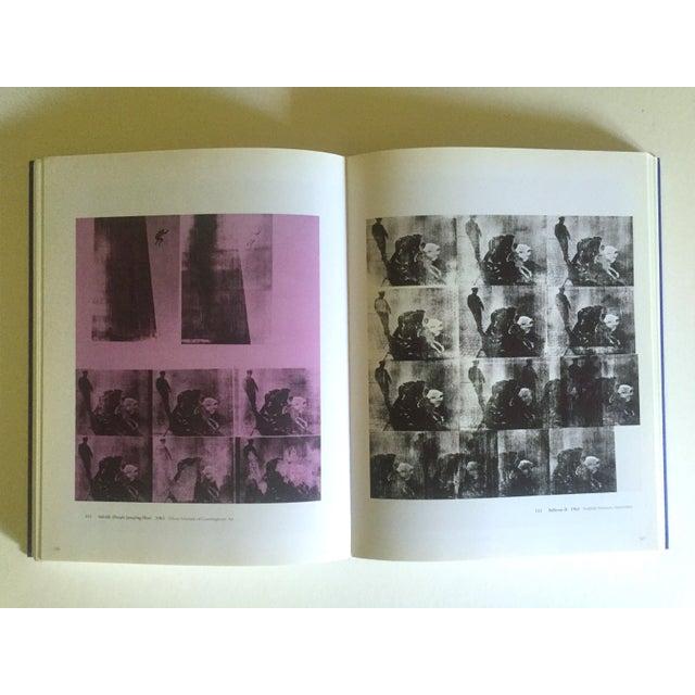 "Black "" Andy Warhol Retrospektive "" Rare 1st Edtn Vintage 2001 German Exhibition Collector's Hardcover Art Book For Sale - Image 8 of 13"