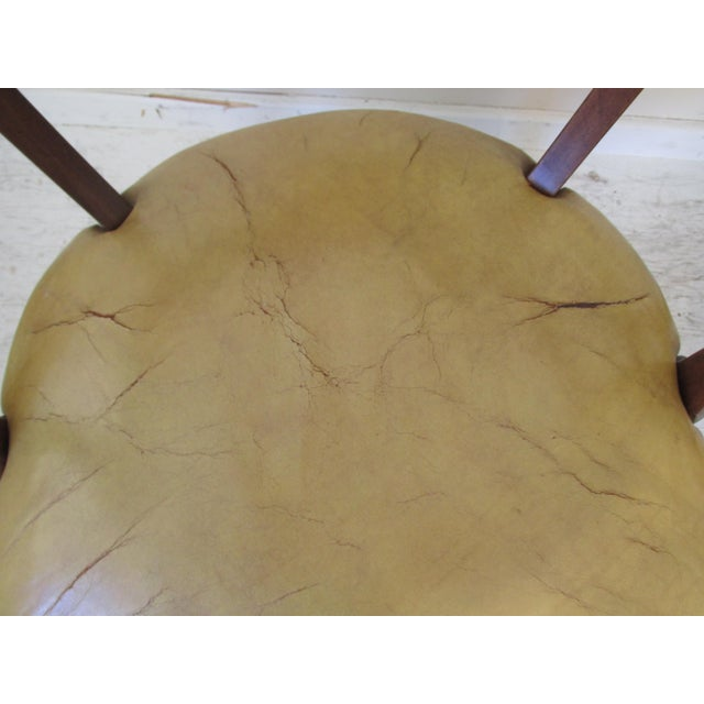 Vintage Butterscotch Leather Armchairs - A Pair - Image 10 of 11