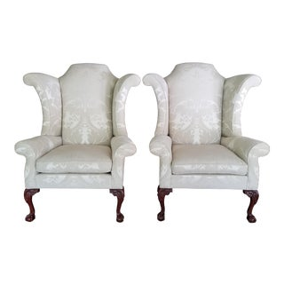 Hancock and Moore Wingbacks- A Pair For Sale