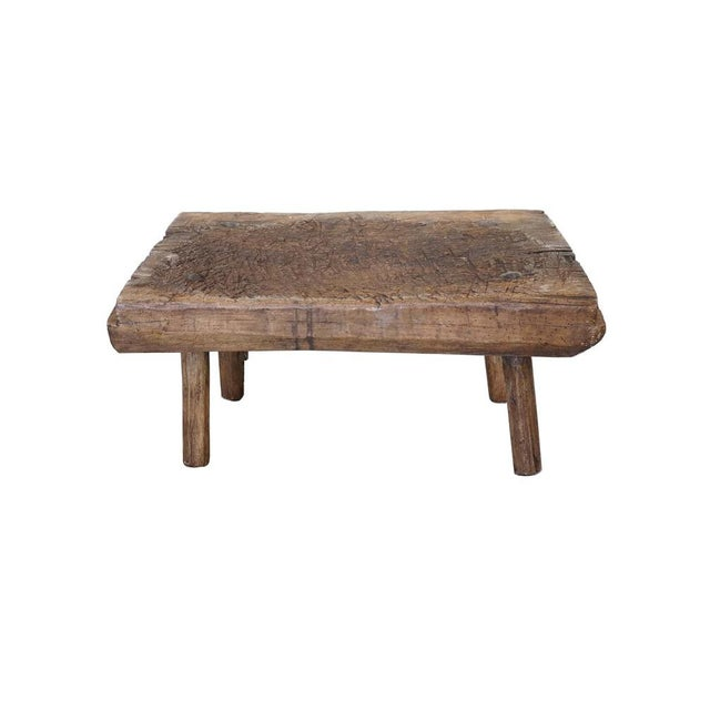 Small Primitive Wooden Table For Sale - Image 10 of 10