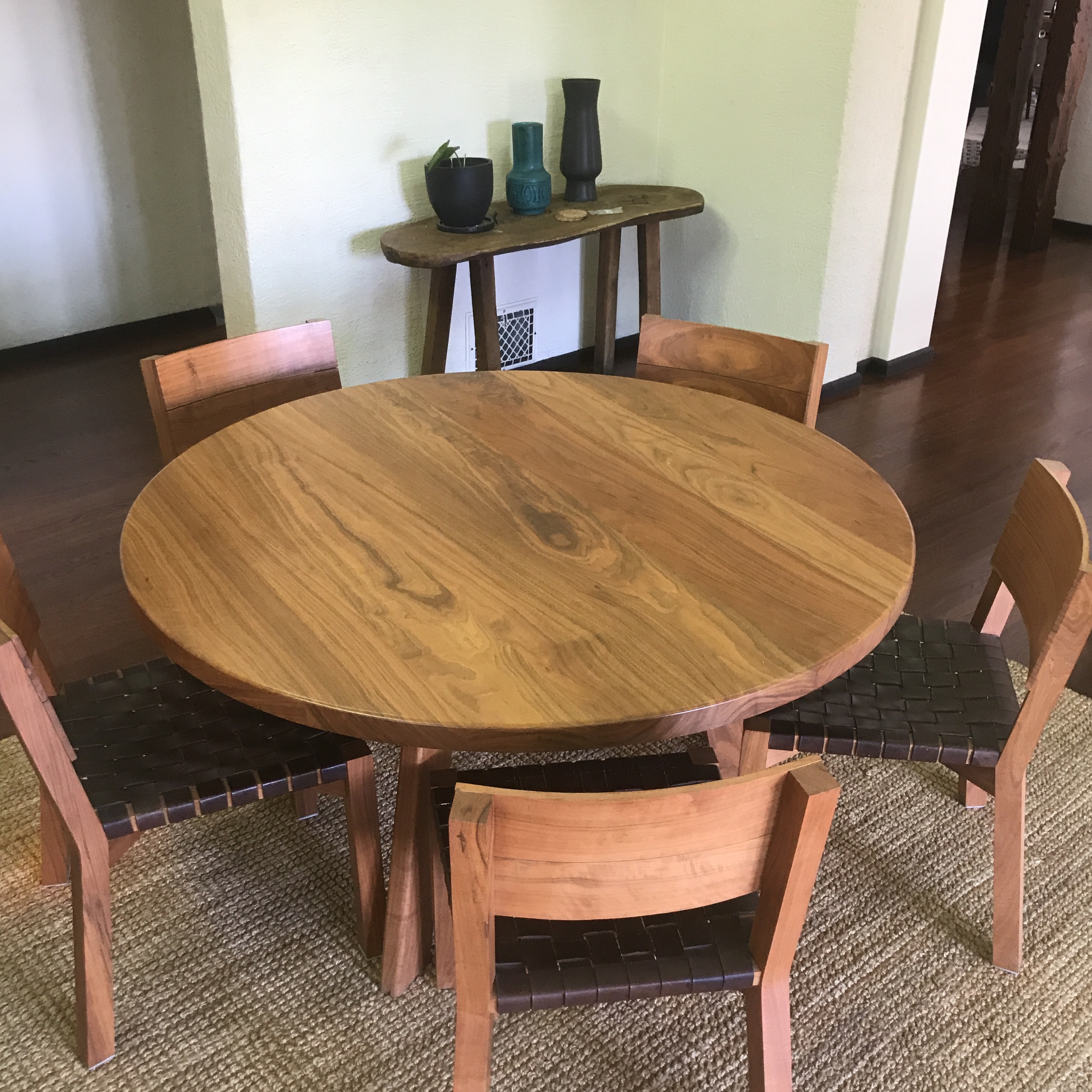 Solid Walnut U0027De La Espadau0027 Dining Room Set. I Have Owned It For