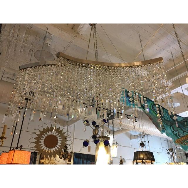 Italamp Italian Swarovski Crystal Chandelier - Image 2 of 9
