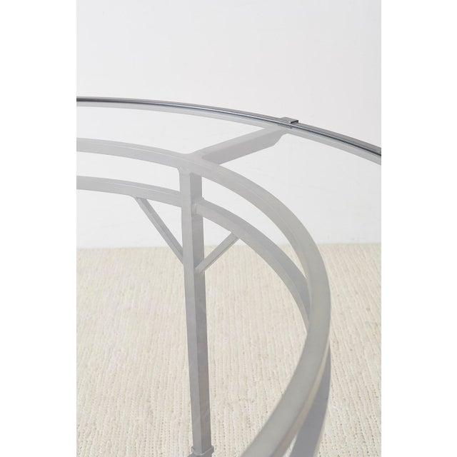 Gray Richard Frinier for Brown Jordan Garden Patio Table For Sale - Image 8 of 13