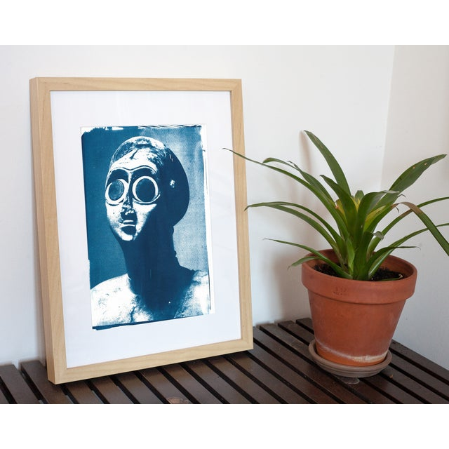 Limited series cyanotype print, handmade and printed under the Sun! WHAT YOU'LL GET? _________________________ This is a...