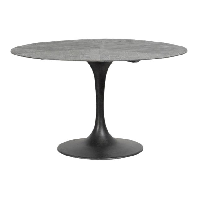 "Kenneth Ludwig Crestview Round 55"" Round Dining Table For Sale"