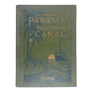 Picturesque Panama and the Great Canal Book For Sale