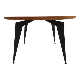 "Danish Design Solid Walnut Coffee Table - 35.43"" For Sale"