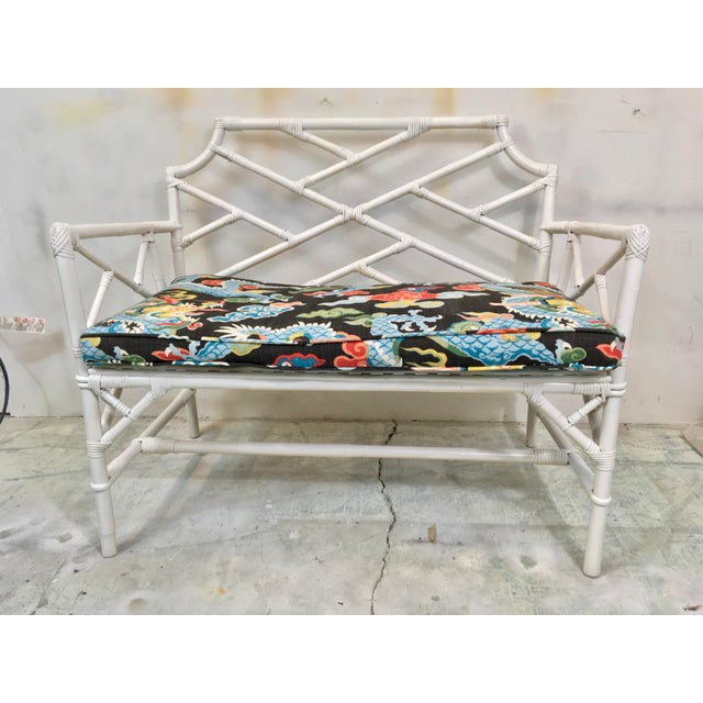 Chinese Chippendale Style Settee For Sale - Image 5 of 6