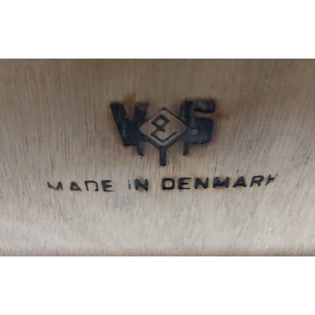 Danish Modern Rosewood Extension Dining Table For Sale - Image 10 of 11