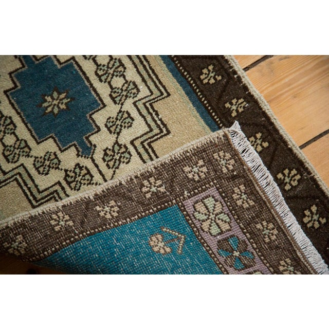 """Vintage Oushak Rug Mat - 1'7"""" x 3'4"""" For Sale In New York - Image 6 of 6"""
