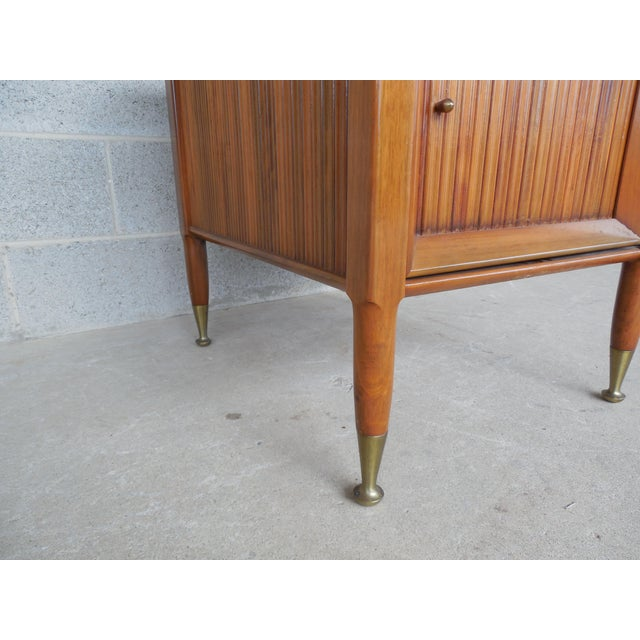 Mid Century Modern Mosaic Tile Top End Table For Sale - Image 5 of 8