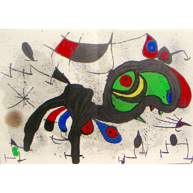 Miró Ram Original Color Lithograph - Image 2 of 3
