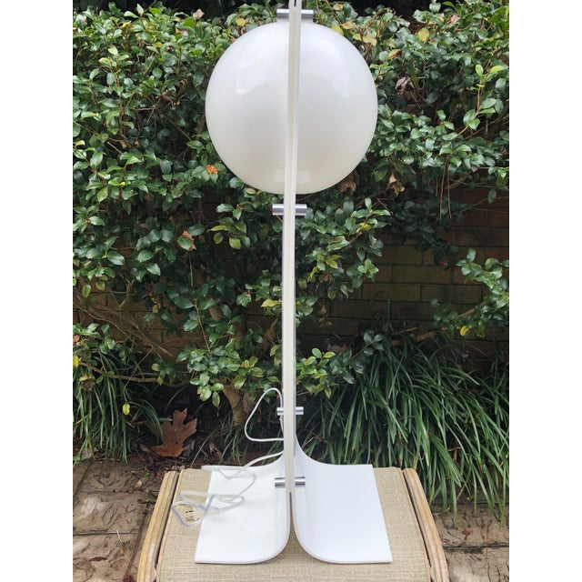 Mid-Century Modern 1960s Neal Small Mid-Century Floor Lamp For Sale - Image 3 of 5