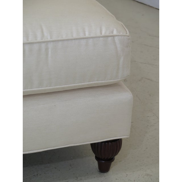 Baker Off-White Upholstered Chaise Lounge For Sale In Philadelphia - Image 6 of 11