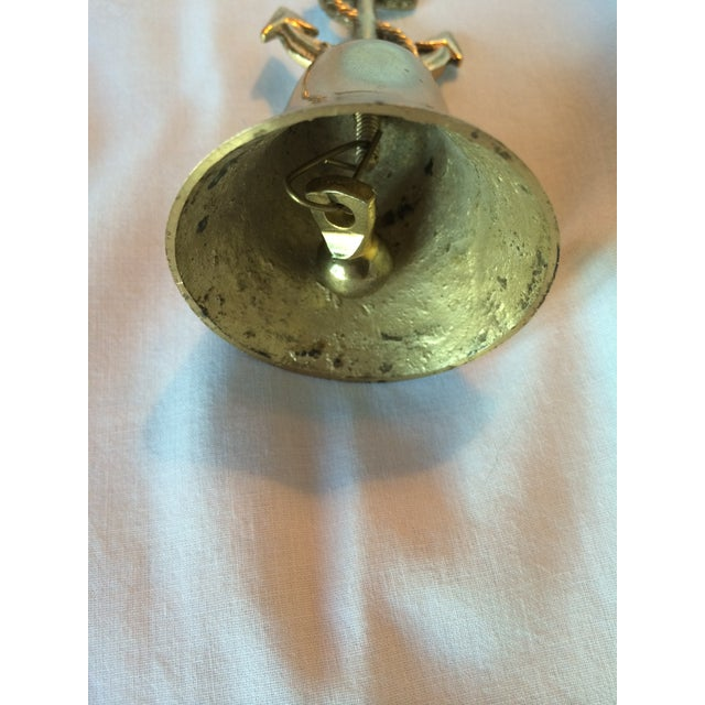 Nautical Brass Anchor Bell - Image 3 of 5