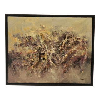 """""""Profusion"""" Abstract Painting by Spanish Artist For Sale"""