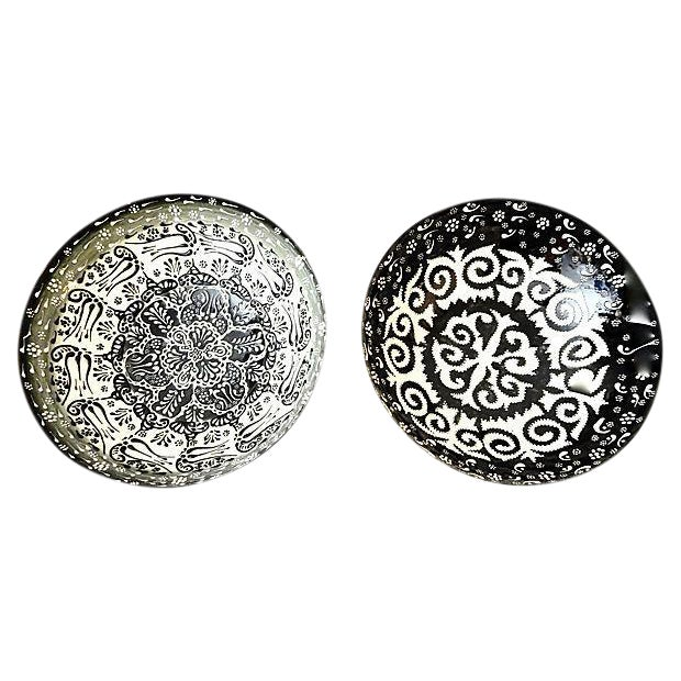 Ottoman Turkish Bowls - A Pair - Image 1 of 6