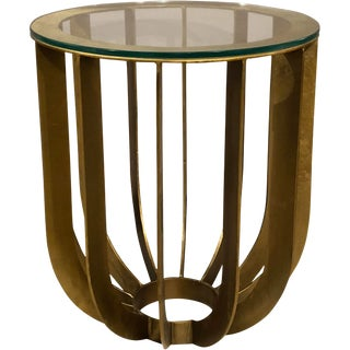 Contemporary Erdos + Ko Home Malago Side Table For Sale