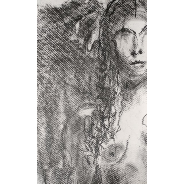 Impressionism Rita Shulak -Nude Female - Sketch Painting-Charcoal For Sale - Image 3 of 8