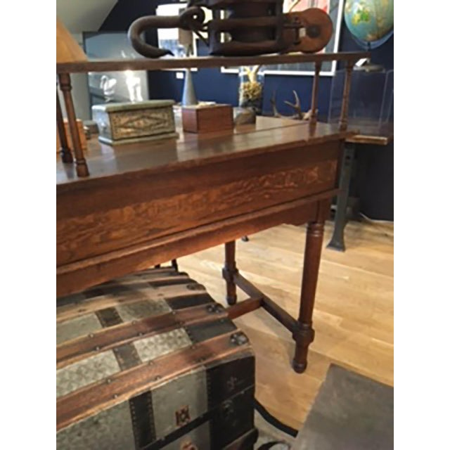 Early 20th Century Monumental Standing Desk - Image 8 of 10