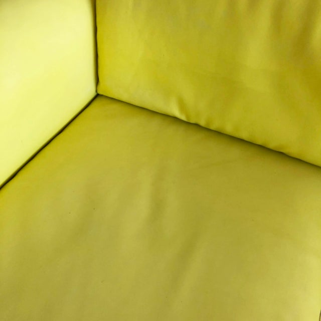 "1970s Vintage Tobia Scarpa for Knoll ""Bastiano"" 3 Seater Sofa For Sale - Image 9 of 11"