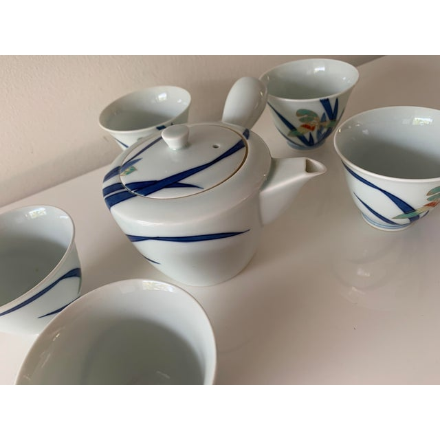 Japanese Contemporary Imaizumi Imaemon Tea Set - 6 Pieces For Sale - Image 9 of 12