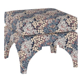 Ottoman, Loiret Navy Blush For Sale