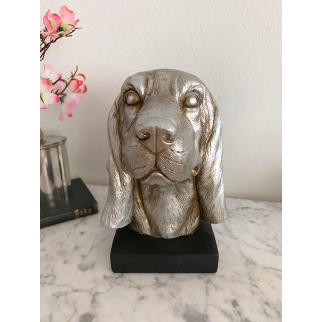 Labrador Golden Retriever Dog Head Figurine Bust For Sale In Miami - Image 6 of 9