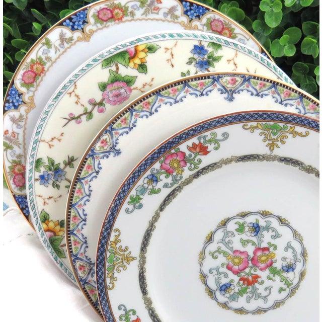 Vintage Mismatched Luncheon Plates - Set of 4 - Image 3 of 8