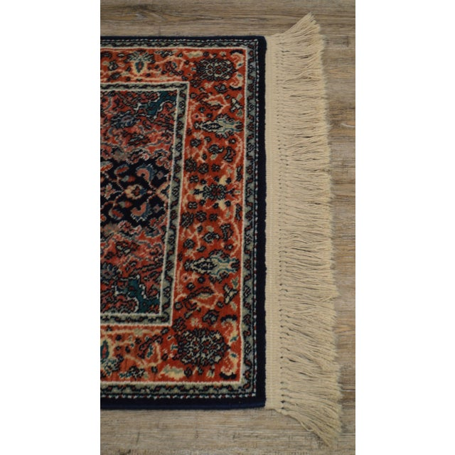 "Karastan Kashan Medallion 2'10"" X 5' Throw Rug #741 For Sale - Image 9 of 13"