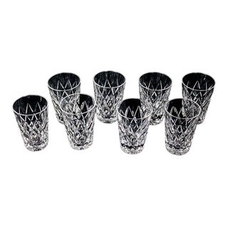 Waterford 5 Oz Tumblers, Kinsdale Pattern - Set of 8 For Sale