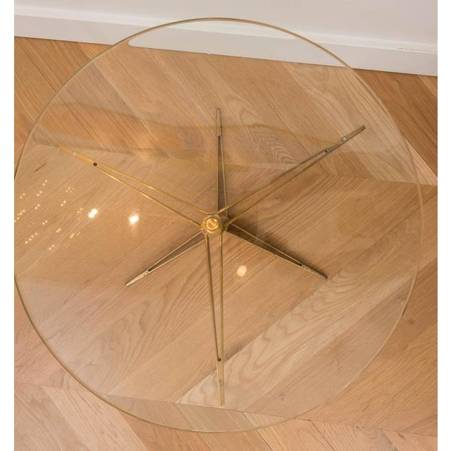 Ico Parisi Brass Occasional Table - Image 4 of 6