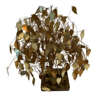 Mid 20th Century Good Luck Money Tree For Sale