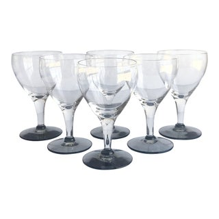 Mid-Century Glasses, Set of 6 For Sale