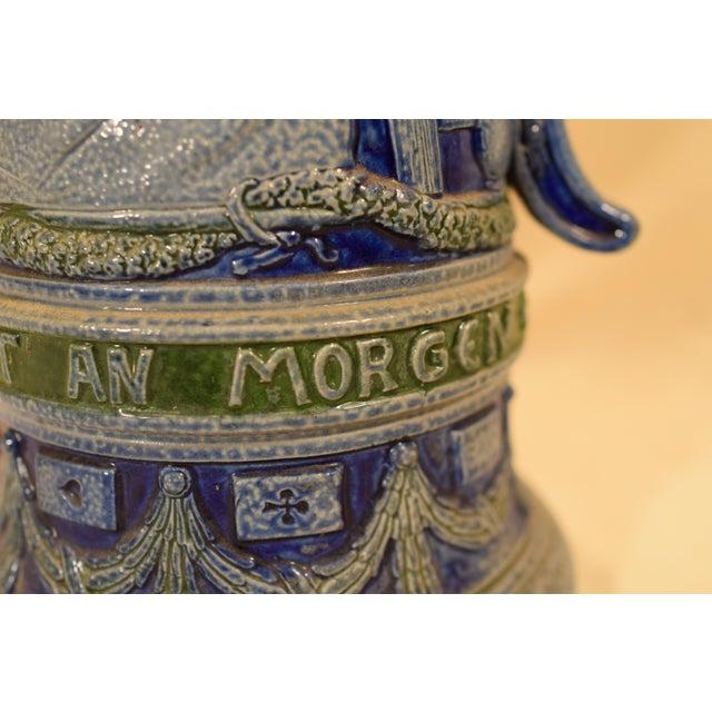 Ceramic Vintage German Beir Stein For Sale - Image 7 of 11